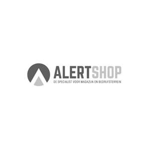 Kunststof RAKO kist, 600x400x235 mm, grijs